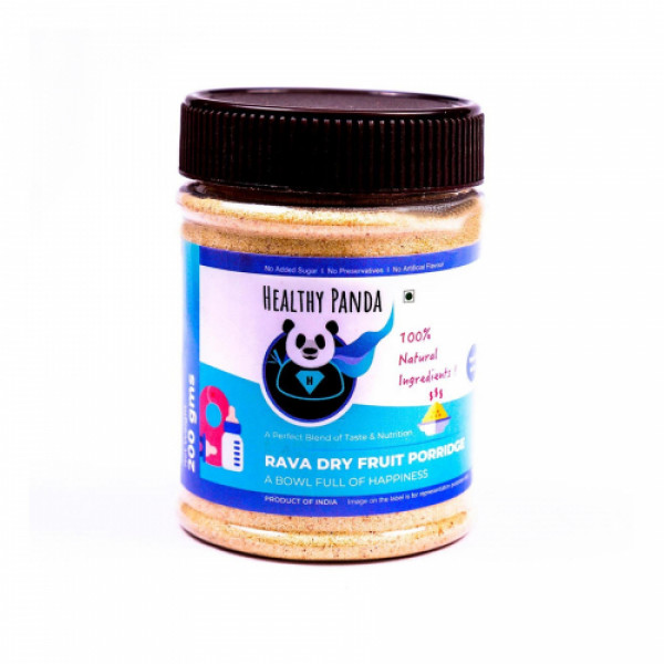 Healthy Panda Rava Dry fruit Porridge, 200gm