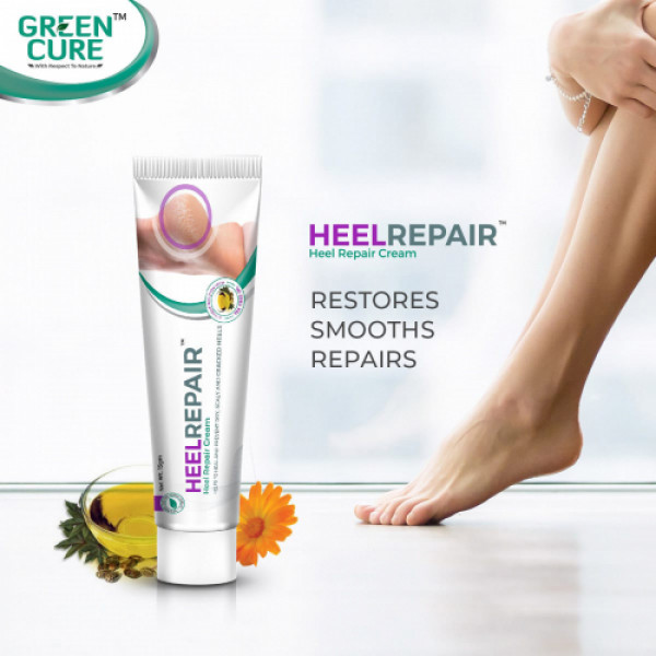 Green Cure Herbal Heel Repair Cream, 15gm
