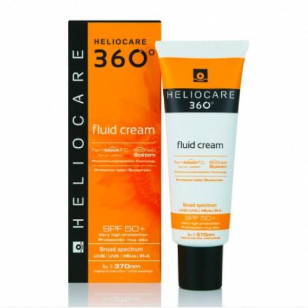 Heliocare 360 Fluid Cream Sunscreen SPF 50+, 50ml