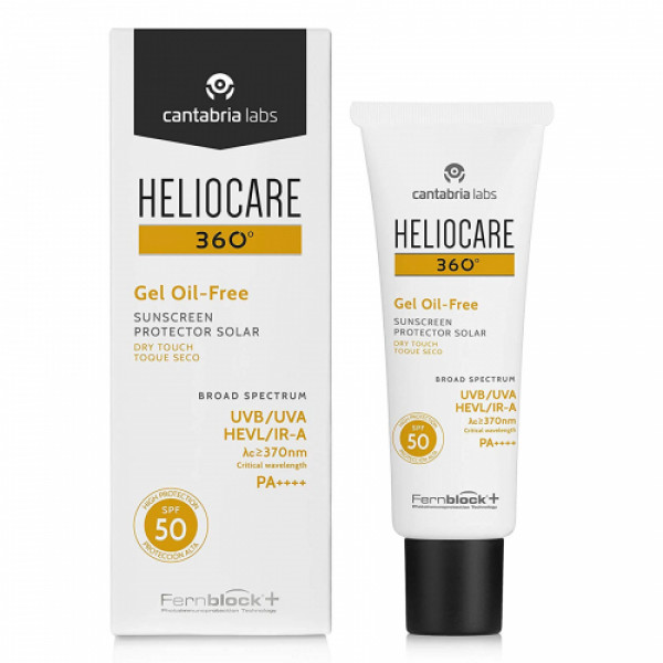 Heliocare 360 Oil-free Dry Touch Sunscreen Gel SPF 50, 50ml