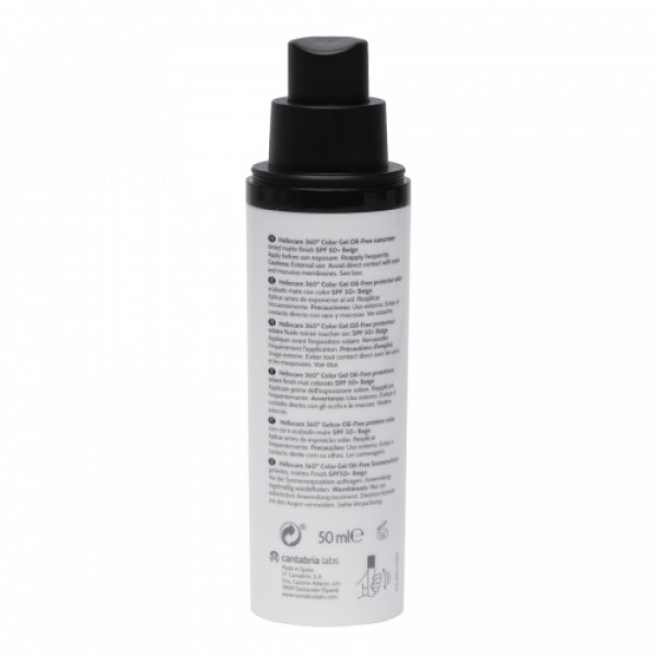 Heliocare 360 Color Gel Oil-Free SPF 50+ (Beige), 50ml