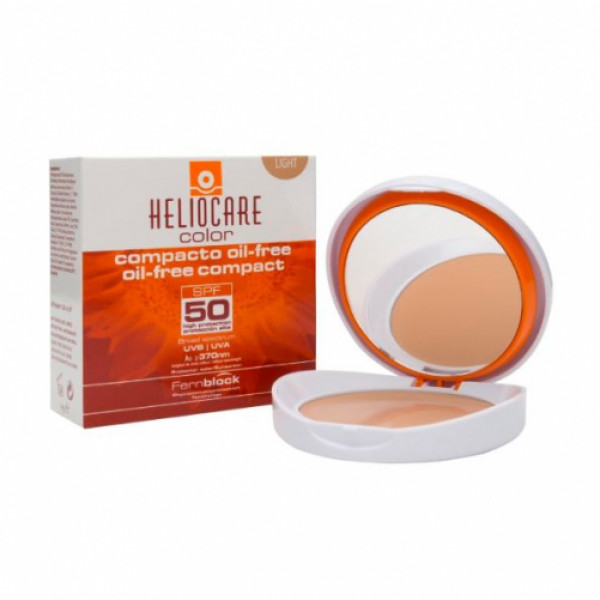 Heliocare Color Oil-Free Compact SPF50 Sunscreen (Light), 10gm