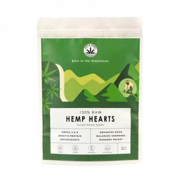India Hemp Organics Hemp Hearts, 500gm
