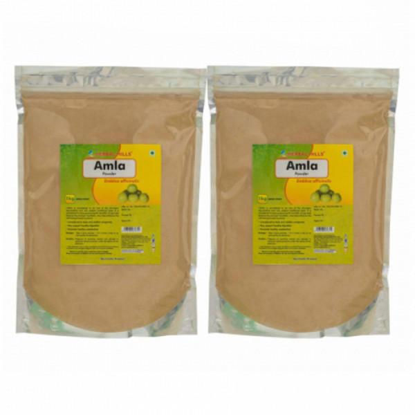 Herbal Hills Amla Powder, 1Kg (Pack Of 2)