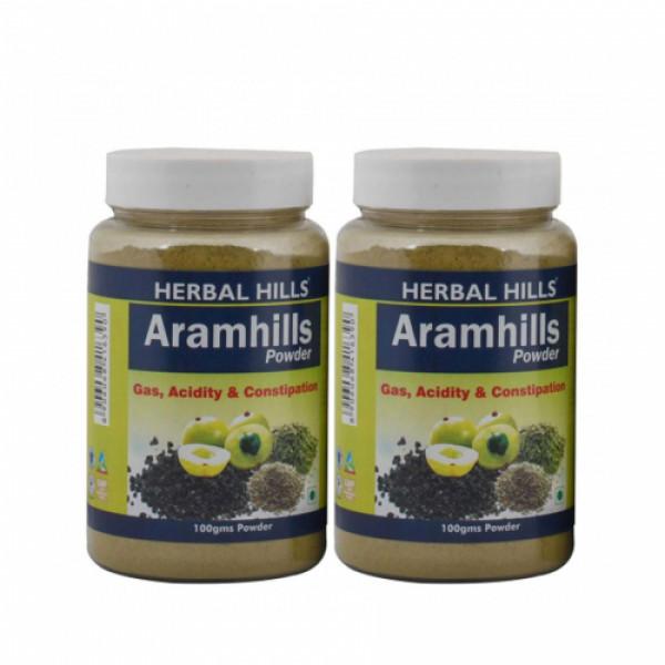 Herbal Hills Aramhills Powder, 100gm (Pack Of 2)