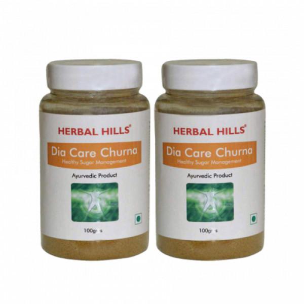 Herbal Hills Dia Care Churna, 100gm (Pack Of 2)