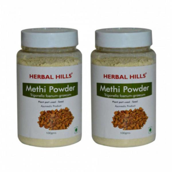 Herbal Hills Methi Seed Powder, 100gm (Pack Of 2)
