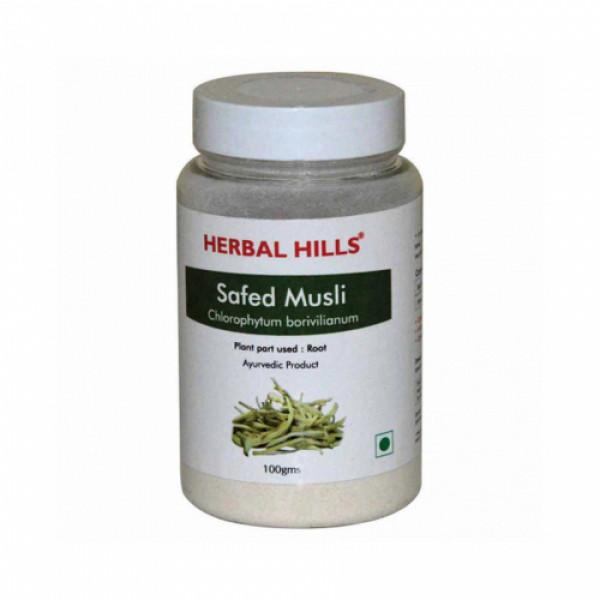 Herbal Hills Safed Musli Powder, 100gm