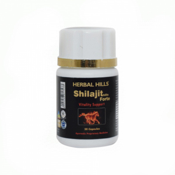 Herbal Hills Shilajithills Forte, 20 Capsules