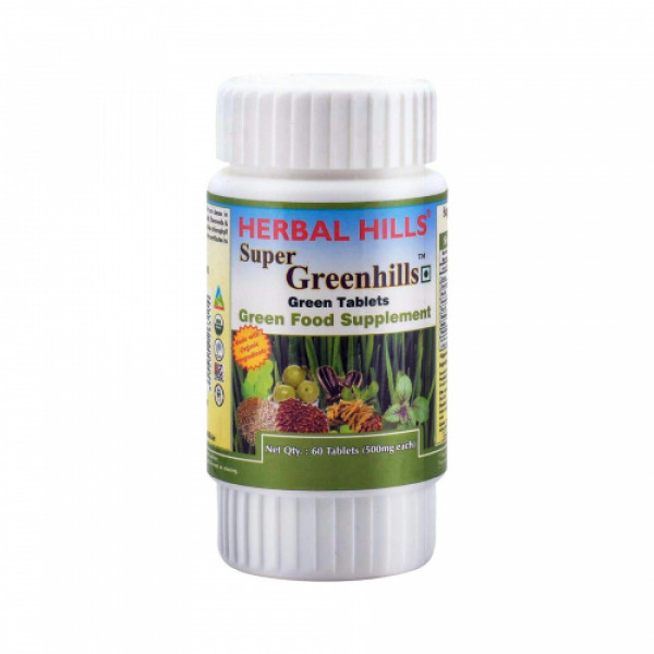 Herbal Hills Super Greenhills, 60 Tablets