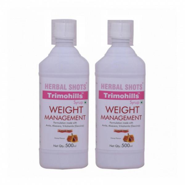 Herbal Hills Trimohills Herbal Shots,  500ml (Pack of 2)
