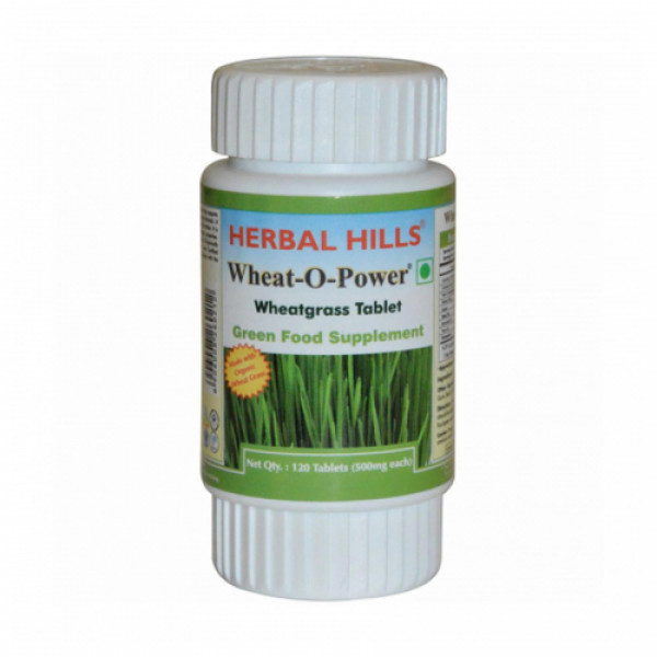 Herbal Hills Wheat-O-Power, 120 Tablets