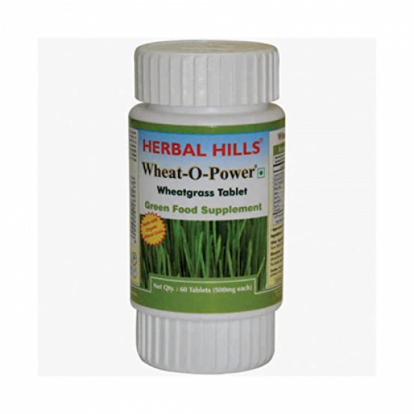 Herbal Hills Wheat-O-Power, 60 Tablets