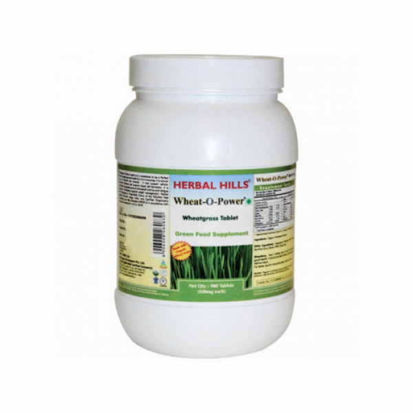 Herbal Hills Wheatgrass, 900 Tablets