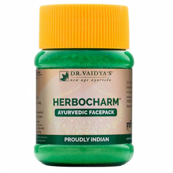 Dr. Vaidya's Herbocharm Face Pack, 50gm (Pack Of 2)