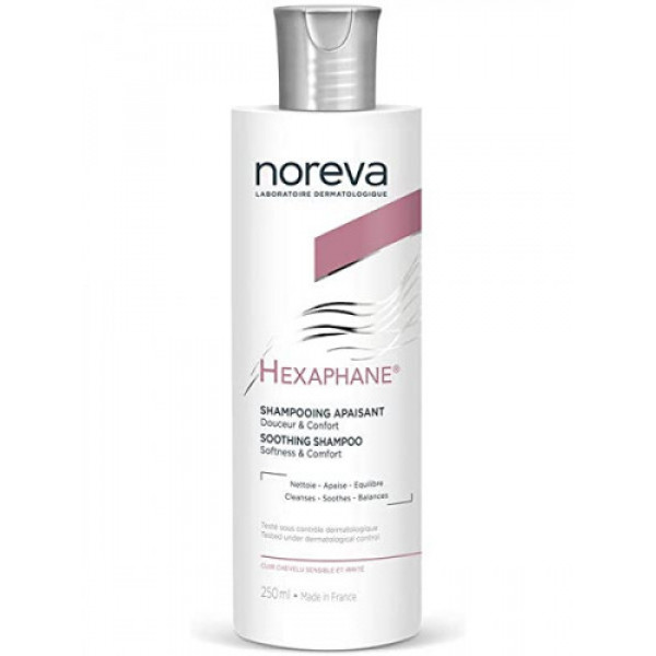 noreva Hexaphane Soothing Shampoo, 250ml