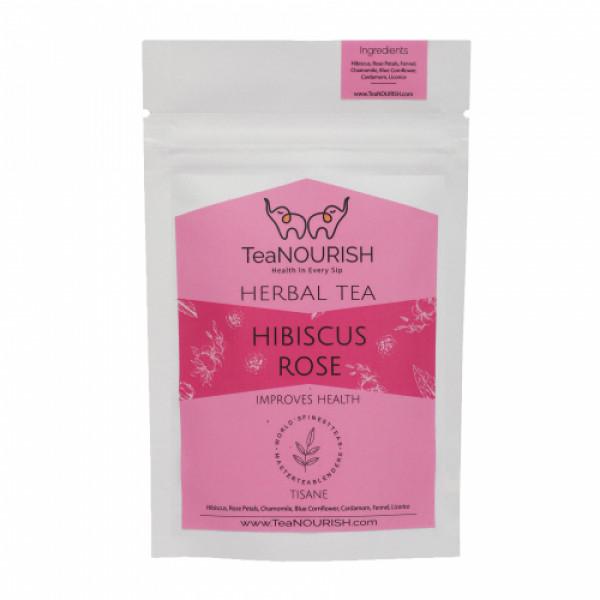 TeaNOURISH Hibiscus Rose Herbal Tea, 50gm
