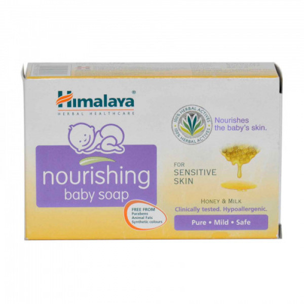 Himalaya Baby Nourishing Soap, 125gm