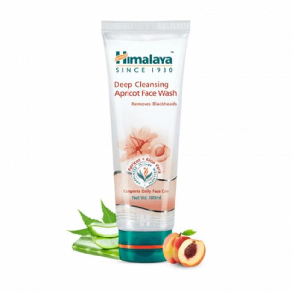 Himalaya Deep Cleansing Apricot Face Wash, 100ml
