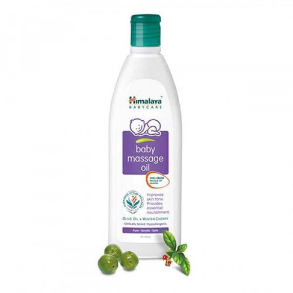 Himalaya Herbals Baby Massage Oil, 100ml