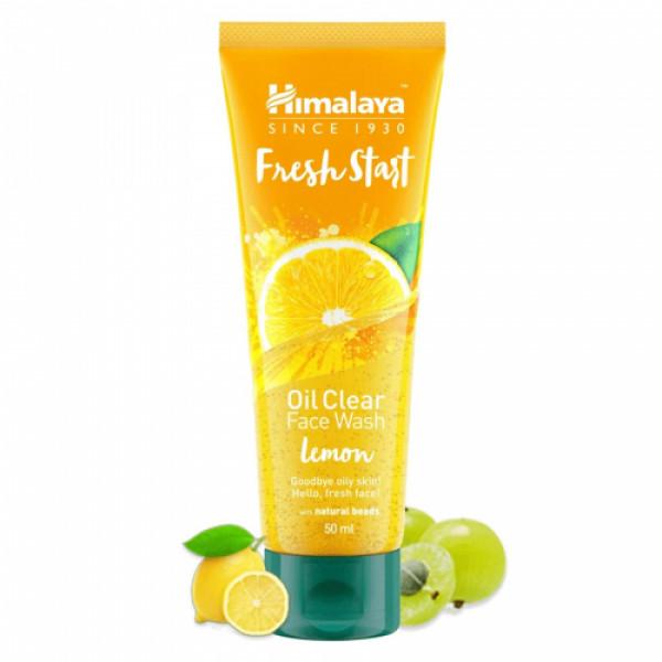 Himalaya Fresh Start Oil Clear Lemon Face Wash, 100ml