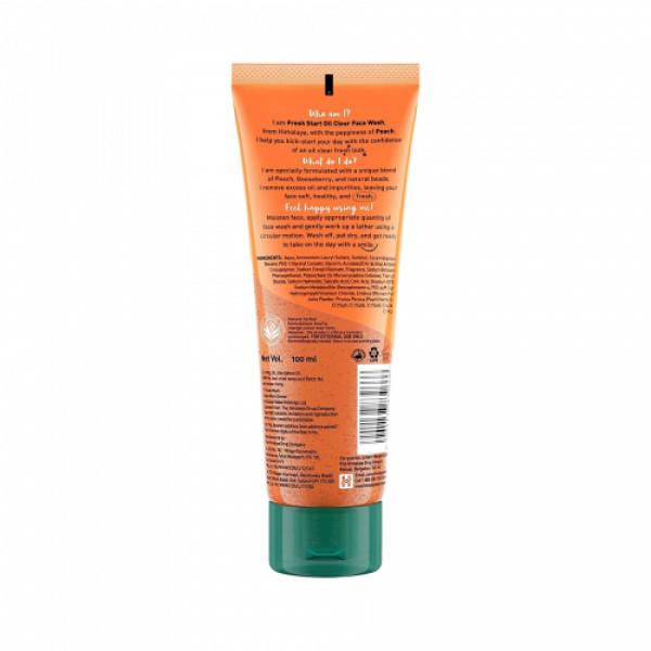 Himalaya Fresh Start Oil Clear Peach Face Wash, 100ml