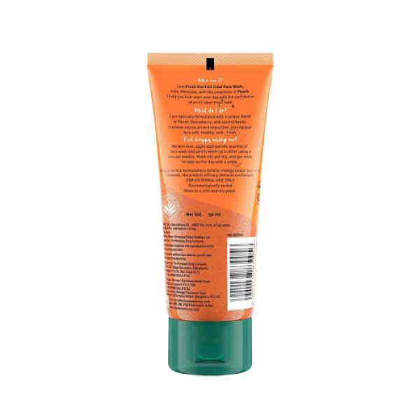 Himalaya Fresh Start Oil Clear Peach Face Wash, 50ml