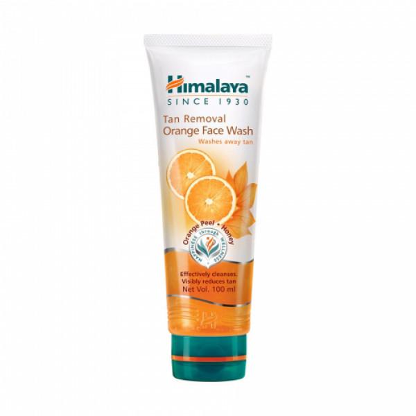 Himalaya Tan Removal Orange Face wash, 100ml