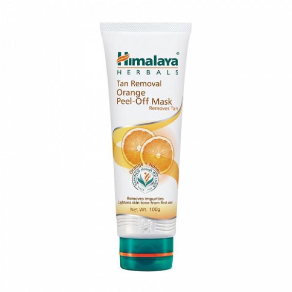 Himalaya Tan Removal Orange Peel-Off Mask, 100gm