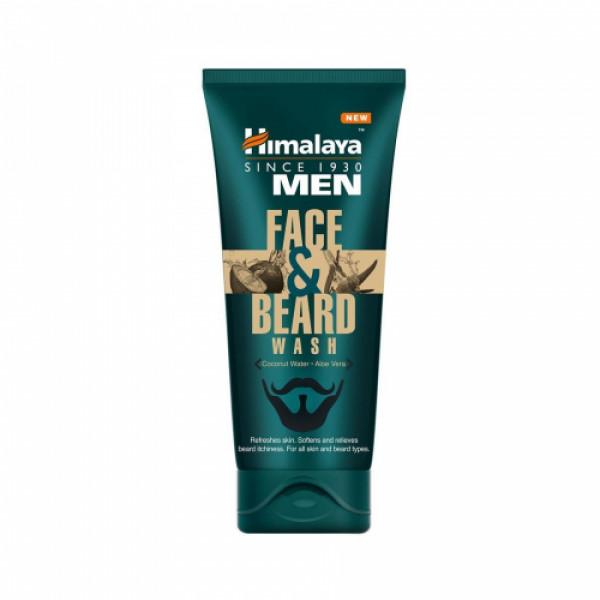 Himalaya Men Face and Beard Face Wash, 80ml
