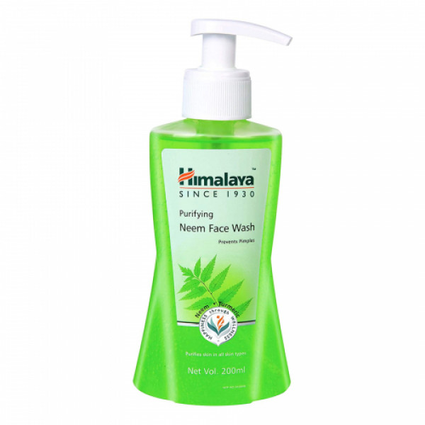Himalaya Purifying Neem Face Wash, 200ml