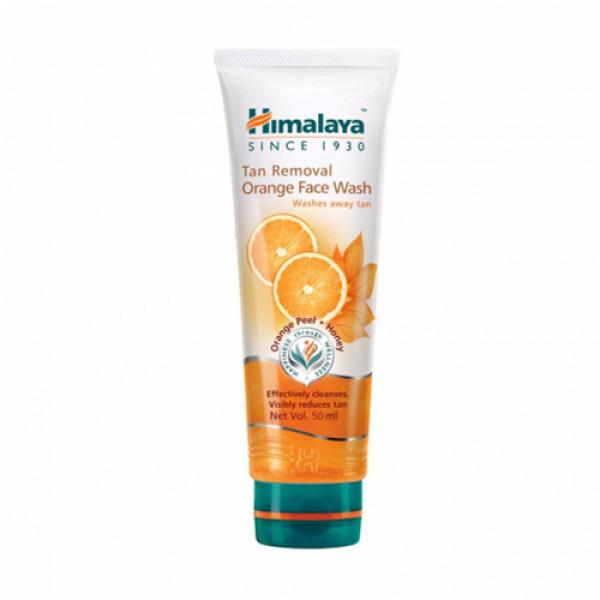 Himalaya Tan Removal Orange Face wash, 50ml