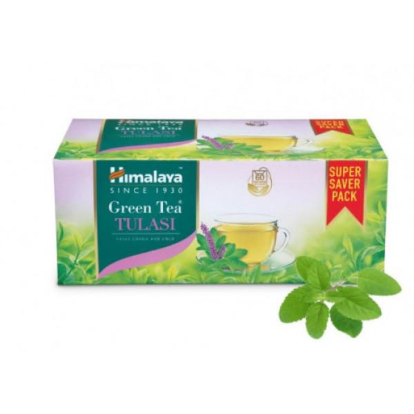 Himalaya Tulsi Green Tea, 60 Bags
