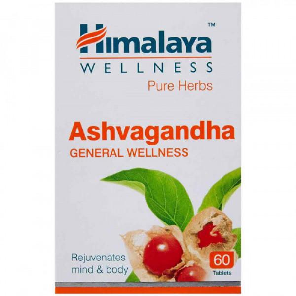 Himalaya Wellness Ashvagandha, 60 Tablets