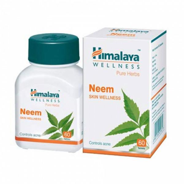 Himalaya Wellness Neem, 60 Tablets