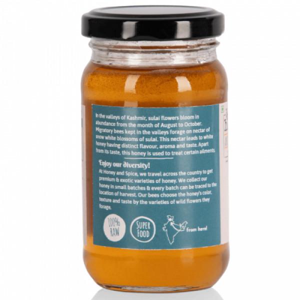 Honey and Spice Sulai (Vana Tulsi) Honey, 250gm