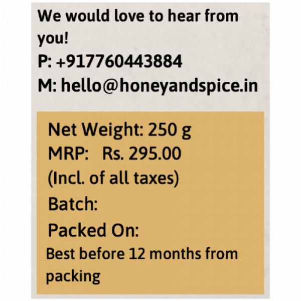 Honey and Spice Kashmir Honey, 250gm