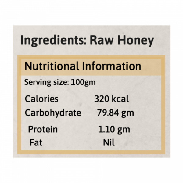 Honey and Spice Kashmir Honey, 500gm