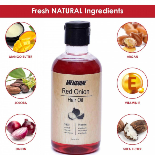 Mensome Red Onion Hair Oil, 200ml
