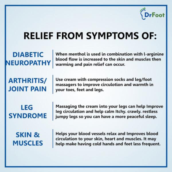 Dr Foot Diabetic Neuropathy Foot Cream, 100gm