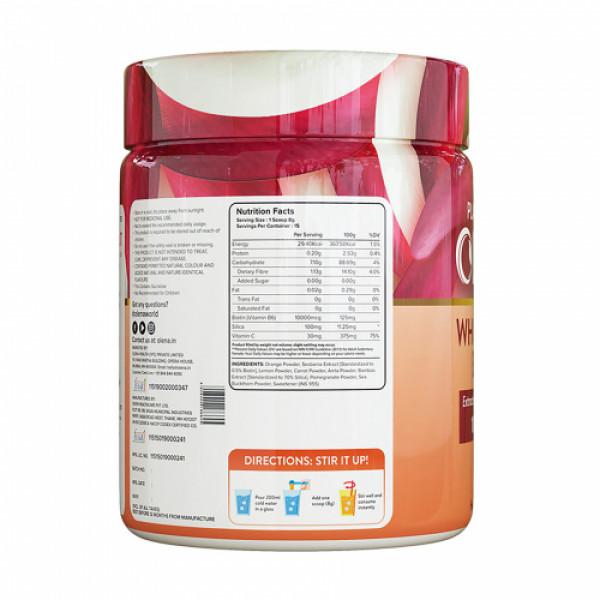 Plix Olena Plant-Based Wholefood 10000mcg+ Biotin Orange Flavour, 120gm