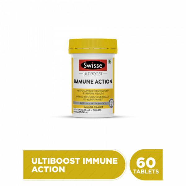 Swisse Ultiboost Immune Action, 60 Tablets