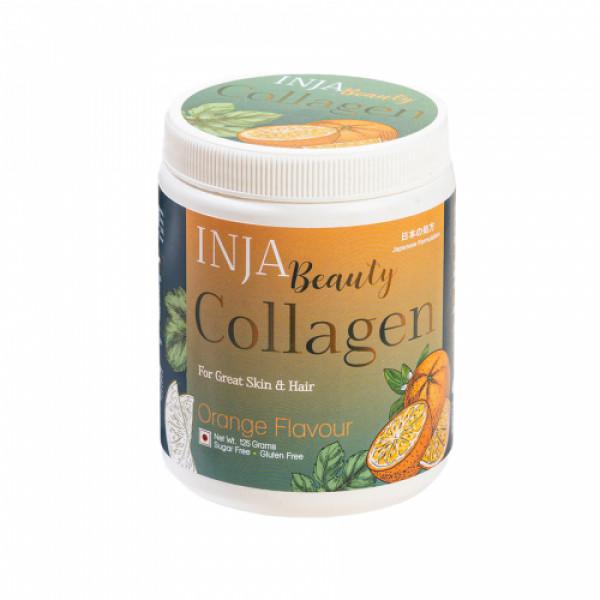 INJA Beauty Collagen Orange, 125gm