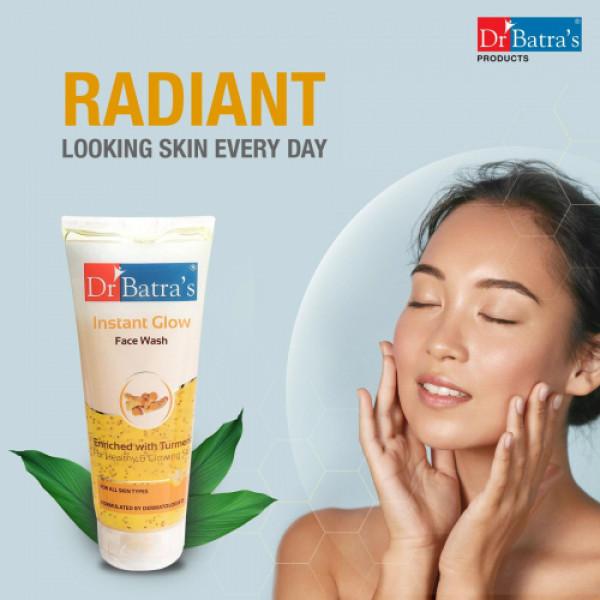 Dr Batra's Instant Glow Face Wash, 200gm