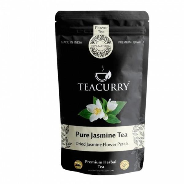 Teacurry Jasmine Flower Tea, 60 Tea Bags