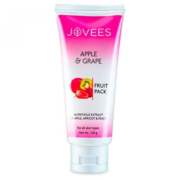Jovees Apple & Grape Fruit Pack, 120gm
