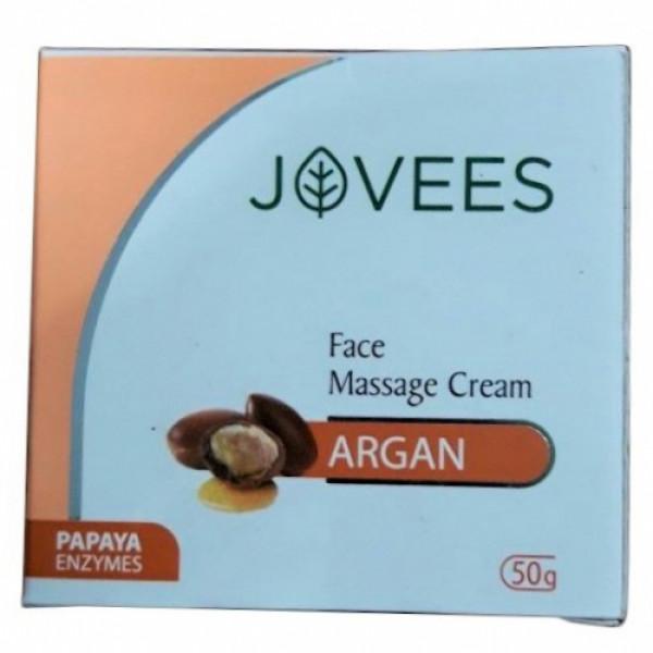 Jovees Argan Oil Face Massage Cream, 50gm