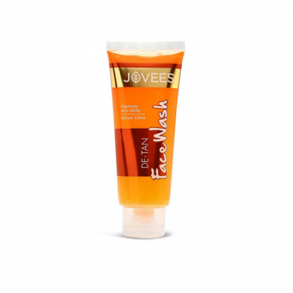 Jovees De-Tan Face Wash, 120ml