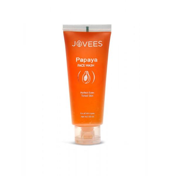 Jovees Papaya Face Wash, 120ml