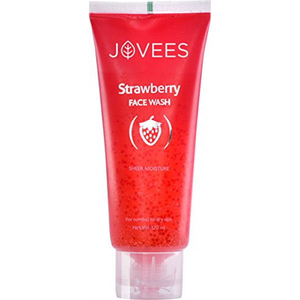 Jovees Strawberry Face Wash, 120ml